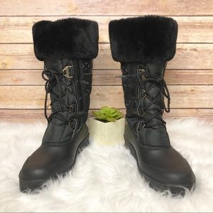 Sorel Faux Fur Trim Boots